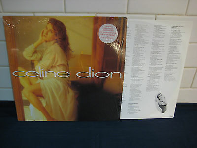 CELINE DION Epic LP 1992 Made in Holland 471508 0 EX+ Condition Rare Vinyl++++++