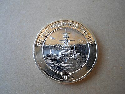 £2 Coin Royal Navy 100 years in The First World War