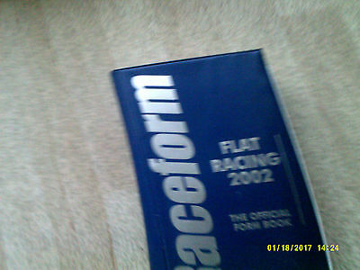 Raceform Flat Racing 2002 Loose Leaf Official Record