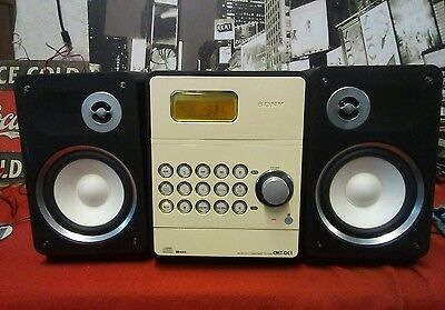 Sony Cmt-Dc1 Micro Hi-Fi Component System Stereo