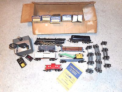 S Gauge American Flyer 1949 Union Pacific Freight Set #4615 In Original Box
