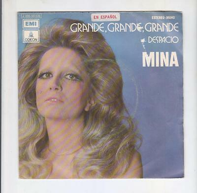 MINA: LOT OF 3 RECORDS -RARITIES X COLLECTORS-SPAIN and ARGENTINA-SEE!!