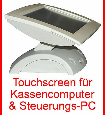 "30,5cm 12"" TFT POS MONITOR TOUCHSCREEN PREH KASSENDISPLAY 3M TOUCH GLASPLATTE"