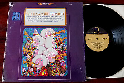 Telemann Lully The Baroque Trumpet Lp Douatte Nonesuch H-71002 Nm Usa (1964)