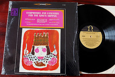 Lully Couperin Symphs For The King's Supper Lp Douatte Nonesuch H-71009 Nm Usa