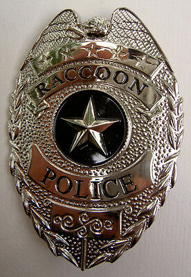 Resident Evil RACCOON City POLICE Badge ~ Quality Metal Prop