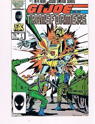 G.i. Joe And The Transformers #1  (1987 Marvel)    Herb Trimpe Artwork
