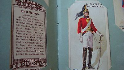 John Player Regimental Uniforms Series 2 c.1913, Full set of 50 Cigarette Cards