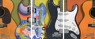 Eric Clapton 3 POSTER Set NYC 2006 Signed by Chuck Sperry Ron Donovan Firehouse