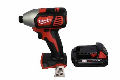 Milwaukee 2656-20 M18 Lithium-Ion 1/4 in Hex Impact Driver 48-11-1828 Battery