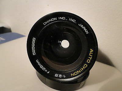 AUTO CHINON 1:2.8 f = 28mm  Wide Angle LENS FOR PENTAX M42.screw fit.Excellent