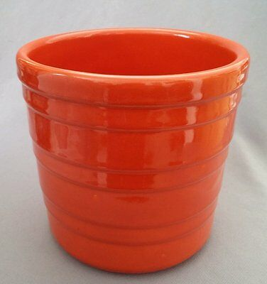 Vintage California Pottery / GARDEN CITY: Base ONLY for Small Orange Canister