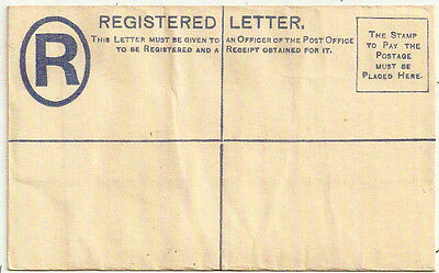1884 Cyprus Qv Two Piastres Registered Envelope Blue Mint H&g 6 Size F