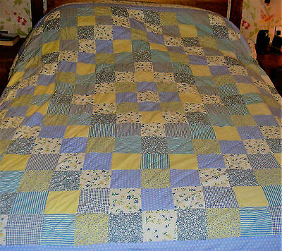 King Size Cosy Vintage Quilt