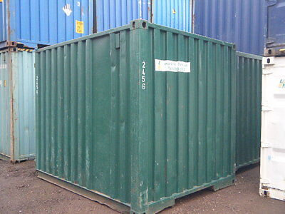RENT HIRE 10ft SHIPPING CONTAINER BLUE ***SECURE, DRY STORAGE***