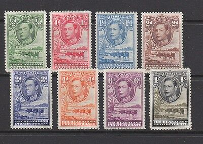 Bechuanaland 1938 - 1952 to 1/- Mint hinged