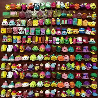 kids  Lot of 100pcs Shopkins of Season 1 2 3 4 5 All different Loose Toys