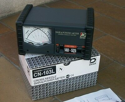 Daiwa Cn103L   Swr And Power Meter  140 - 525 Mhz