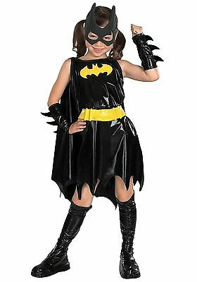 BATGIRL DC COMICS SUPER HERO CHILD COSTUME Halloween Cosplay Fancy Dress G2