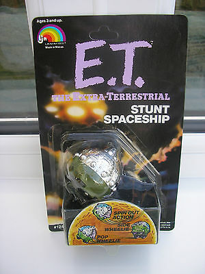 Vintage 1982 E.t, The Extra- Terrestrial  Stunt Spaceship  New Mint On Card
