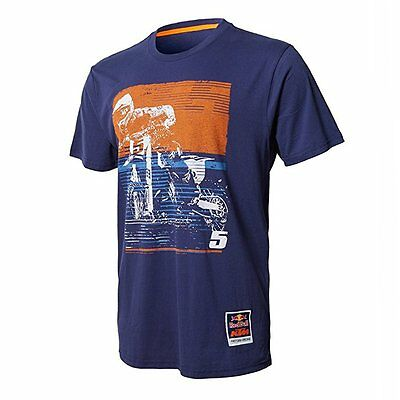 NEW Red Bull KTM Factory Racing Dungey Signature Tee Navy Size LARGE