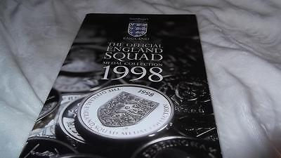 The Official England Squad Medal Collection 1998 Complete