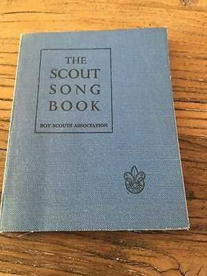 Old  Booklet  The Scout Song Book