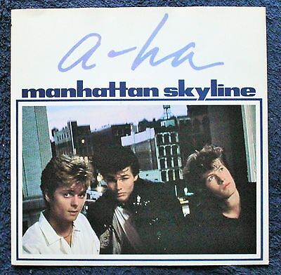 "a-ha Manhattan Skyline Electronic, Rock 1980s 7 "" INCH 45RPM"