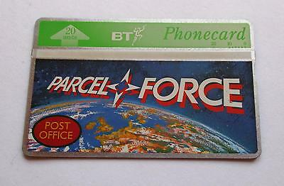 Bta 098 / Post Office Counters - Parcelforce  /  Un-Used Phonecard