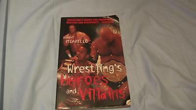WWE Wrestling's Heroes and Villains Paperback Book From 2001