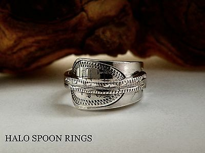 Pretty Georgian Solid Silver Spoon Ring 1812 *** The Perfect Gift ***