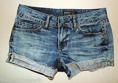 Only  Jeans Hotpants  Used  Look w 30  38 Kurze hose  shorts top