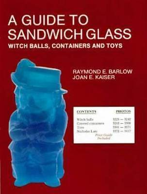 Sandwich Glass Witch Ball Toy Container Book