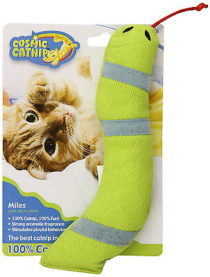Cosmic Ourpets 100% Catnip Filled Snake Miles Cat Toy Free Shipping In The Usa