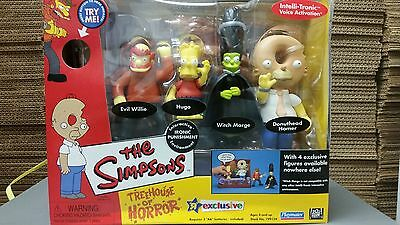 Simpsons Treehouse of Horror Ironic Punishment Set TOYS R US EXCLUSIVE