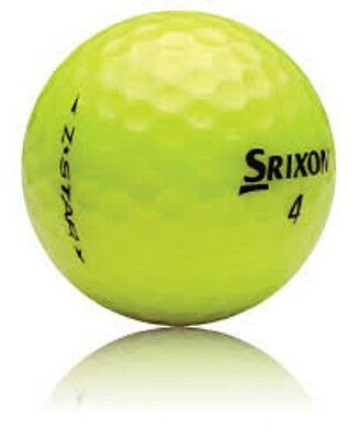 50 Mint Srixon Z Star Yellow Used Golf Balls