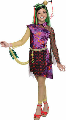 MONSTER HIGH SCARIS CHILD COSTUME Halloween Cosplay Fancy Dress G2