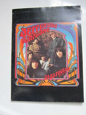 JEFFERSON AIRPLANE Press kit 2400 Fulton Street 1 photo 20 pgs