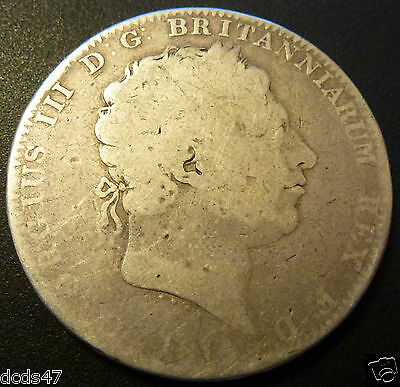 Rare George Iii Silver Crown 1818 Coin Hunt