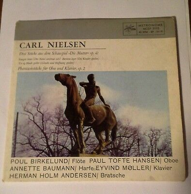 Carl Nielson vinyl single