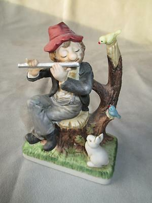 Melody In Motion Clown Figurine - Springtime
