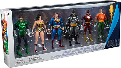 """JUSTICE LEAGUE - 7"""" Action Figure 6-Pack Collector Set by DC Comics #NEW"""