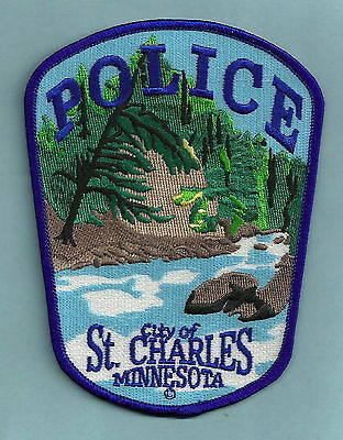 St. Charles Minnesota Police Patch