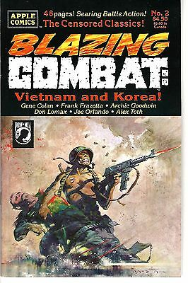 Blazing Combat: Vietnam & Korea! #2 (1993) VF/NM   Frazetta - Goodwin - Toth