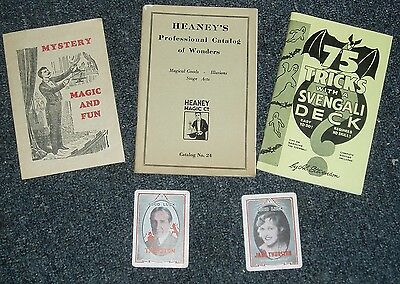1920's -1960's MAGIC COLLECTION HEANEY + THURSTON + MORE