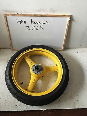 1999 kawasaki zx6r Front Wheel And Tyre