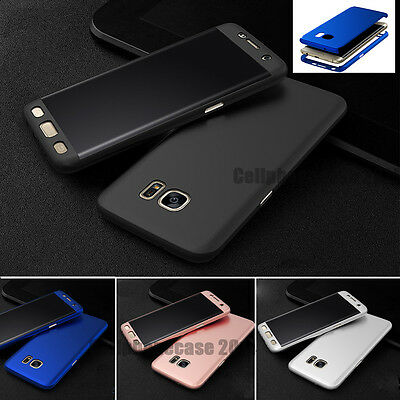 For Samsung GALAXY S8 S7 Hybrid ShockProof Protective Hard Case Cover FULL BODY