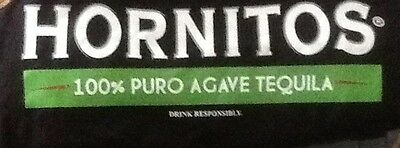 NEW Hornitos Tequila T-Shirt Black XL Extra Large Give In to Temptation