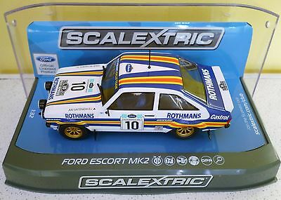 Ford Escort Mk2 Rothmans 1980 Rally C3749 Scalextric Mint/boxed