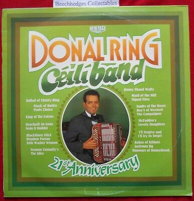 The Donal Ring Ceili Band LP